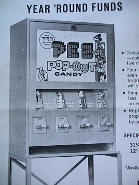 pez vending machine